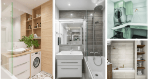 I malá koupelna může být útulná a praktická. Přinášíme vám inspiraci