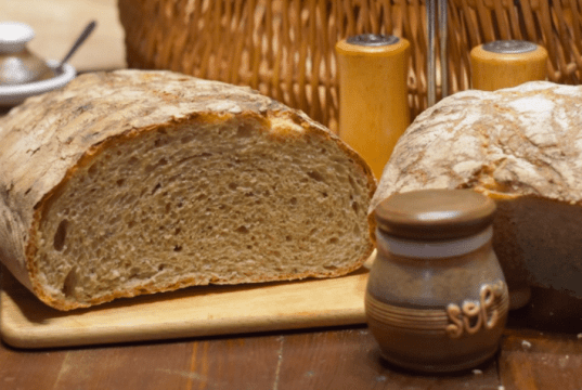 Recept na hrnkový domácí chléb