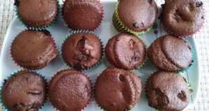 Recept na banánové muffiny s čokoládou
