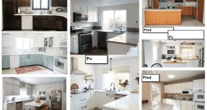 20+ kuchyňských proměn: Podívejte se na fotografie PŘED a PO