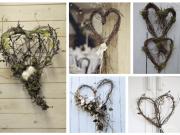 Inspirace na jarní dekorace! Vyrobte si proutěné srdce - Prima inspirace
