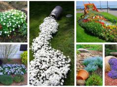 Zkrášlete si zahradu pomocí rozlitých květináčů: Výsledek Vás okouzlí