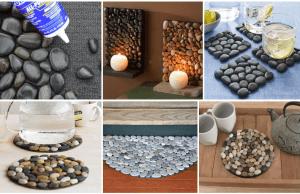 Kouzlo slepených kamenů: Nápady na krásné dekorace a pomůcky do domácnosti!