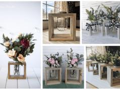 Inspirace na krásné jarní dekorace! Využijte sklenice a pár kousků dřeva