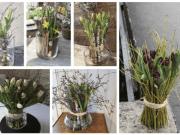 Jednoduché jarní dekorace, na které vám postačí provázek a skleněná váza!