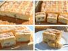 Recept na koláč s vanilkovým krémem a bílou polevou