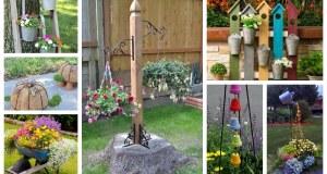 Kreativní nápady na překrásné dekorace do každé zahrady