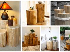 Proměňte obyčejný dřevěný špalík v krásnou dekoraci do interiéru