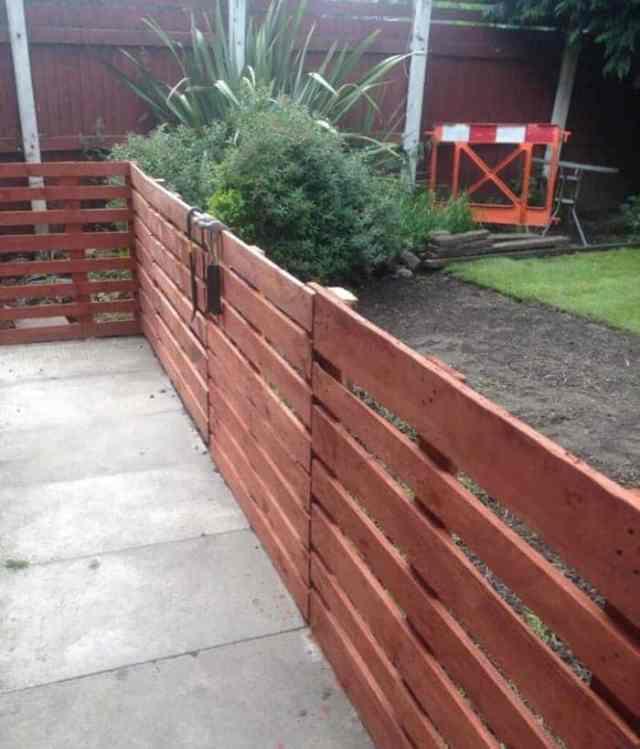 paletové ploty