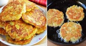 Recept na fantastické bramborové placičky se sýrem a šunkou