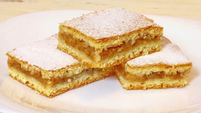 Recept na šťavnatý jablečný koláč bez práce