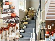 schody podzim
