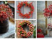 Nasbírejte si několik větviček šípků a začněte tvořit - překrásné dekorace