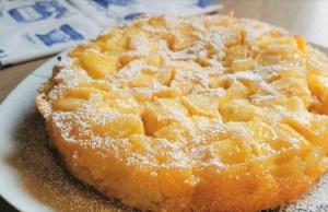 3 jablka a 10 minut vám bude stačit na tento vynikající jablečný koláč