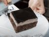 rychlý a lehký čokoládový koláč připravený pomocí mixéru