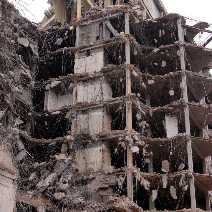 demolition of Ravenswood hospital