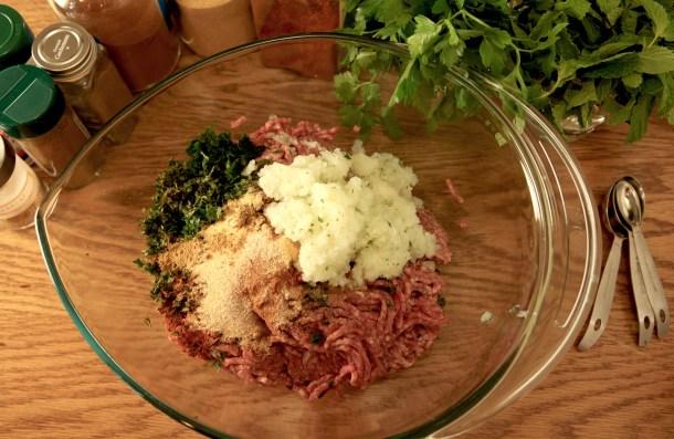 Moroccan Lamb Kofta Preparation - Primal Mediterranean Gourmet