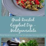 Greek Roasted Eggplant Dip - Melitzanosalata