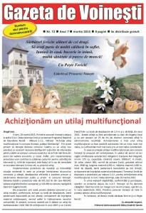 Gazeta voinesti 72