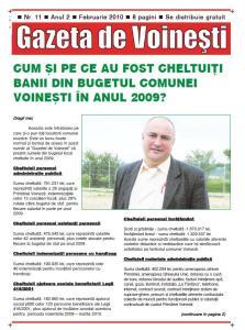 Gazeta de Voinesti nr. 11