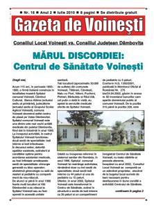 Gazeta de Voinesti nr. 16