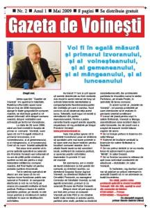 Gazeta de Voinesti nr.2