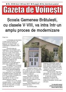 Gazeta de Voinesti nr. 26