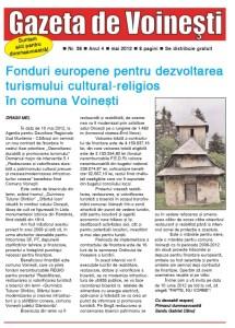 Gazeta de Voinesti nr. 38