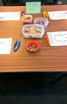Developing fine motor skills to help with our pencil grips