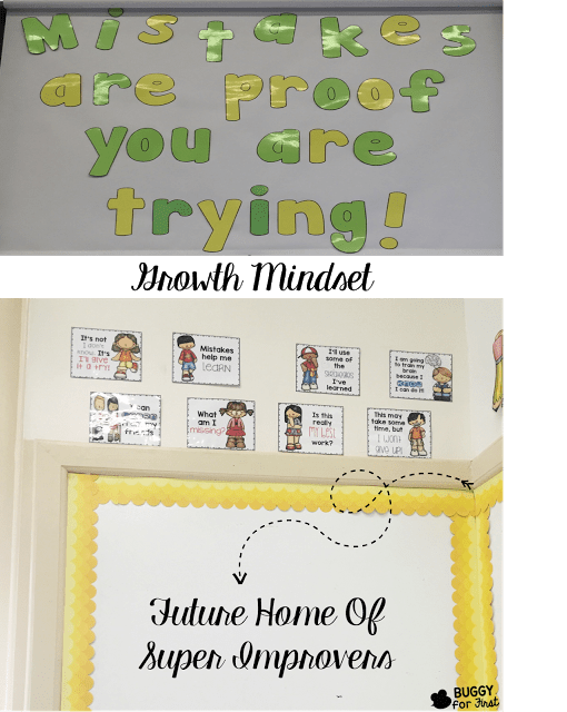 A growth mindset helps students to get ready for learning. Introduce them to the power of yet and growth.