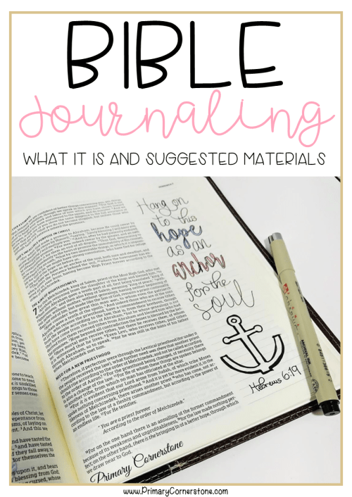 Bible journaling doesn't have to be complicated. There are many materials that are helpful for making your bible vibrant and having the Word speak to you.