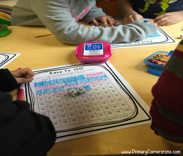 Race to 100 on the 100th day of school is a fun and engaging game for students!
