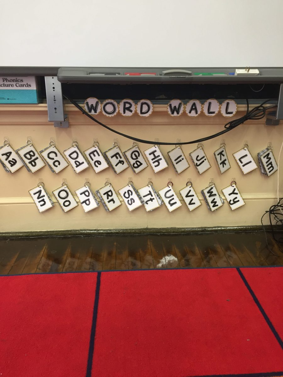 A portable word wall and why you need one