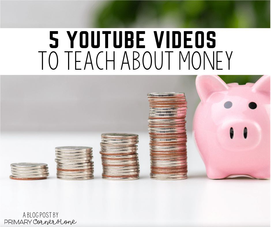 Thank God for YouTube. I can be a very creative teacher, but nothing can top the excitement of a well thought out song or visual courtesy of YouTube. Below are 5 of my favorites simply because they're also my students' favorites and they learn from them . Teach kids about money! It's fun!