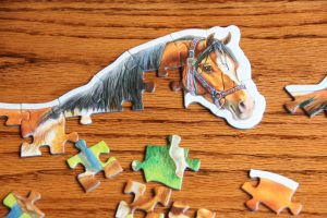 puzzle of a horse