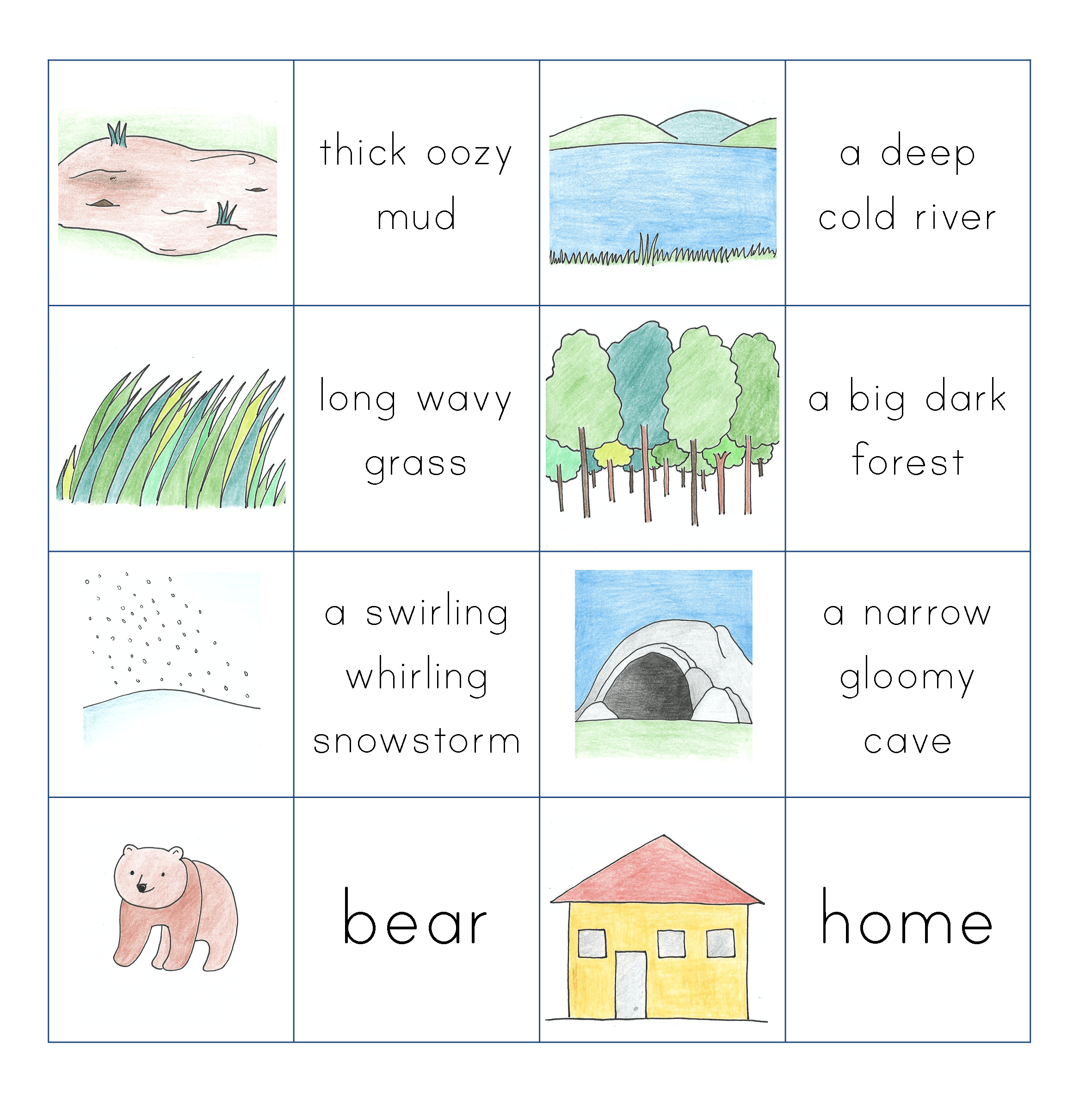10 Bears Worksheet