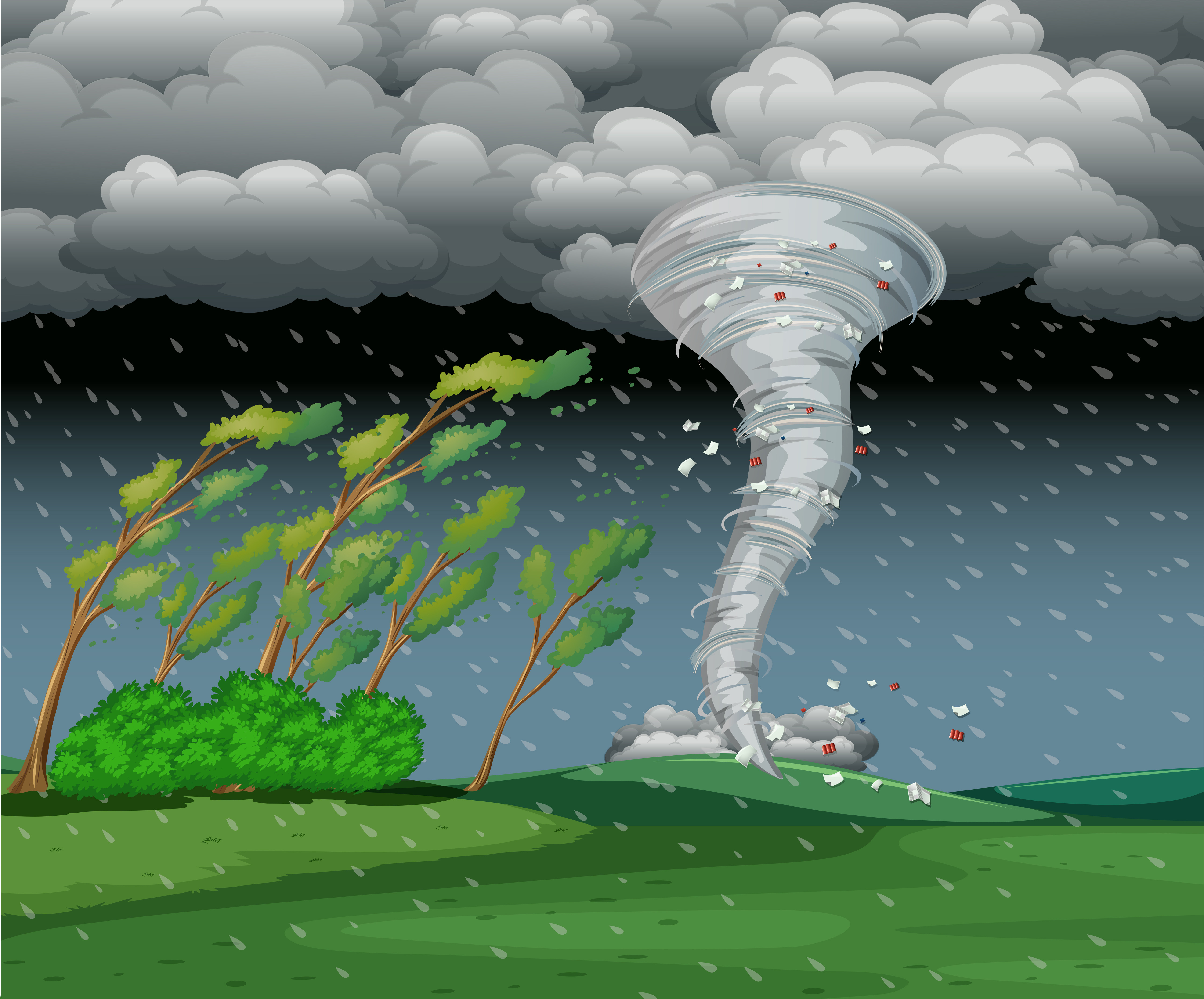 Geography Tornadoes Level 1 Activity For Kids
