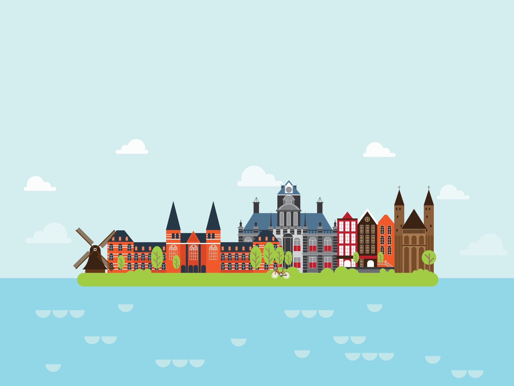 Geography The Netherlands Level 1 Activity For Kids