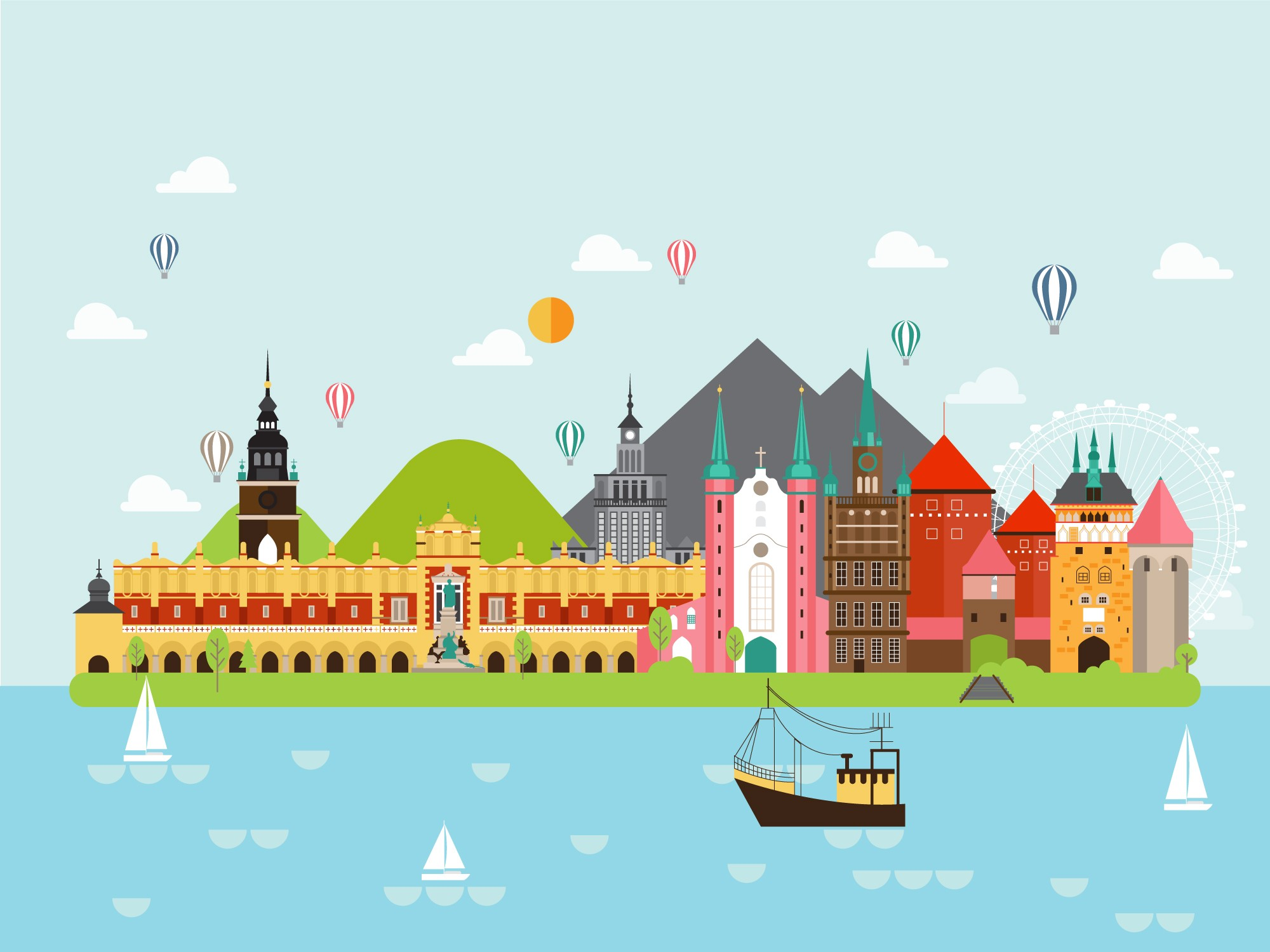 Geography Poland Level 1 Activity For Kids