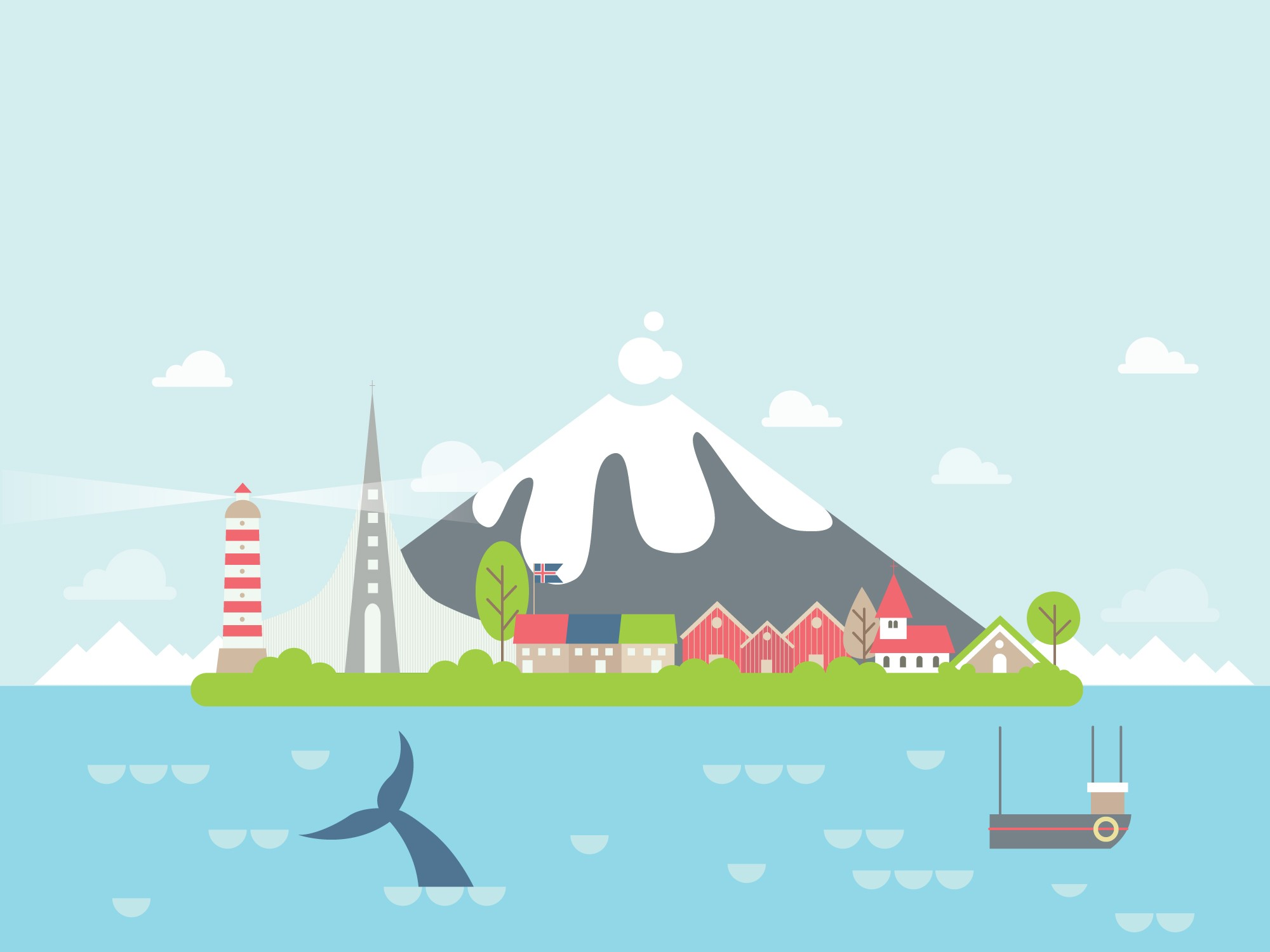 Geography Iceland Level 2 Activity For Kids