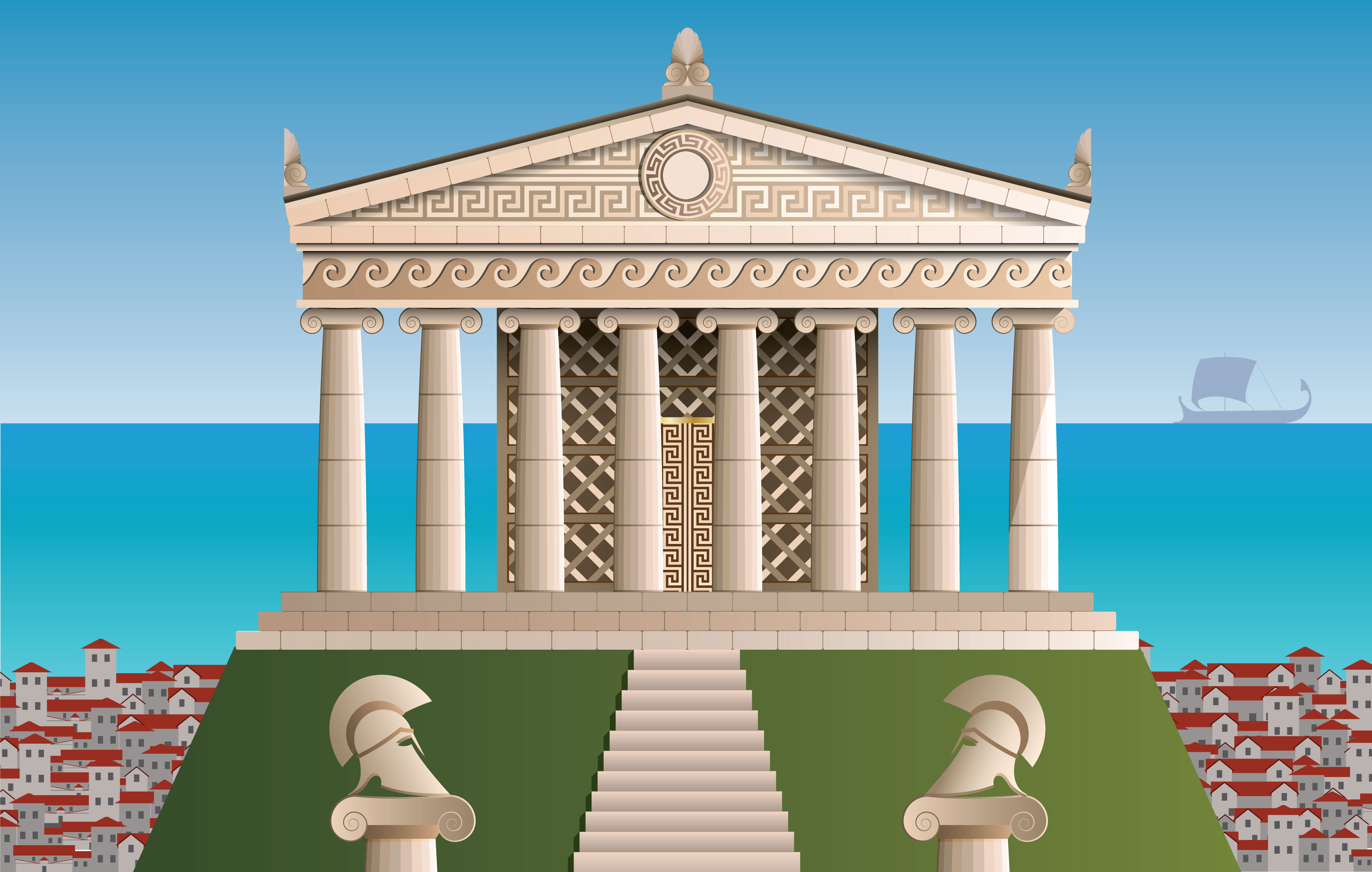 History Ancient Greek Architecture Level 1 Activity For