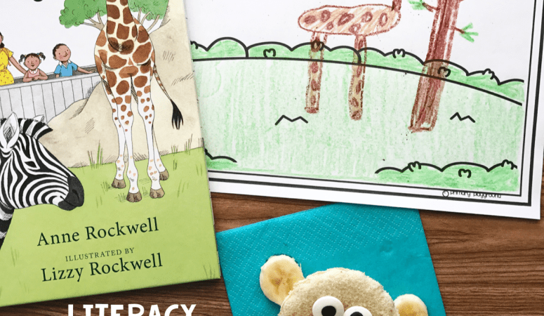 Literacy Snack Idea Zoo + Free Printable
