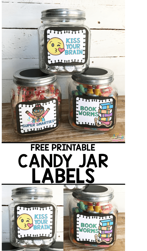 Free Printable Candy Jar Reward Labels