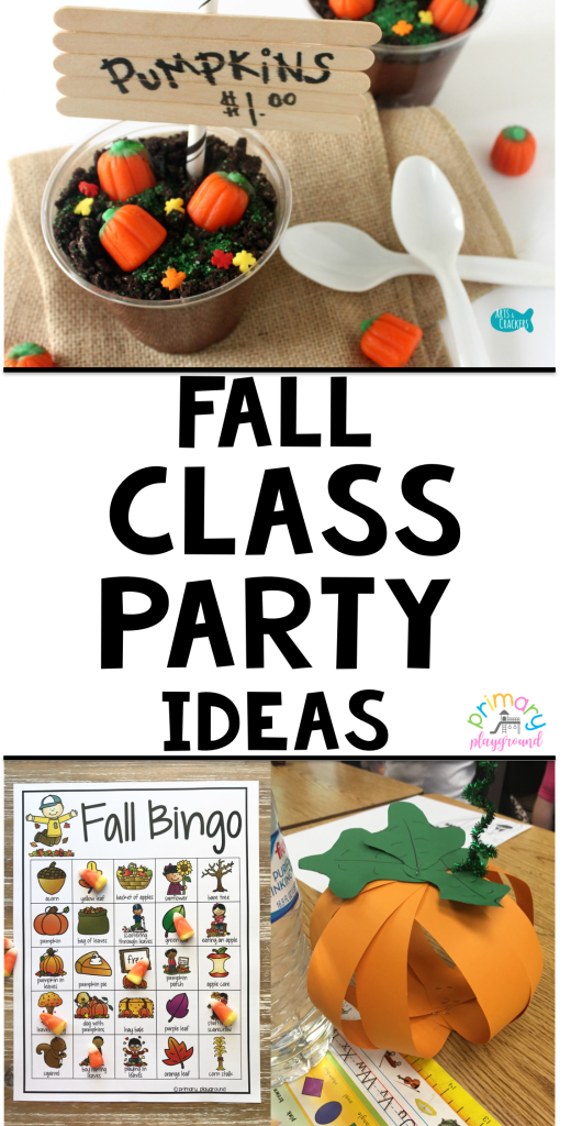 Fall Class Party Ideas