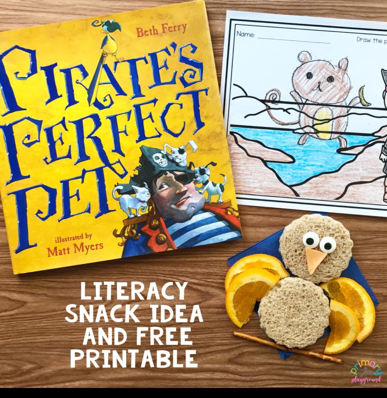 Literacy Snack Idea Pirates