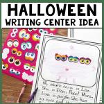 Halloween Writing Center Idea