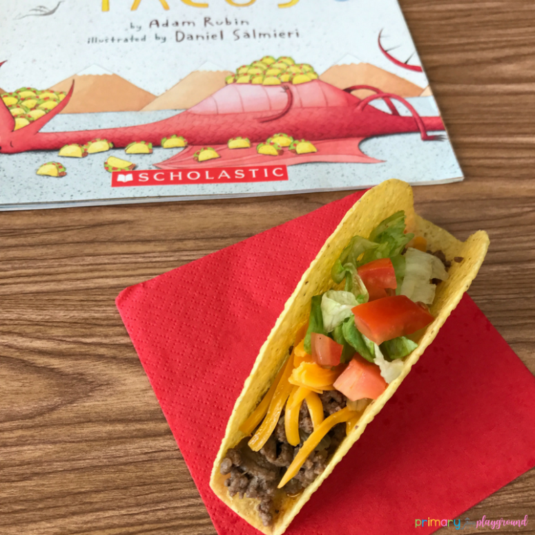 Literacy Snack Idea Dragons Love Tacos