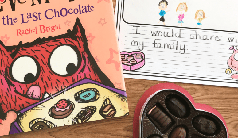 Literacy Snack Idea Monster + Free Printable