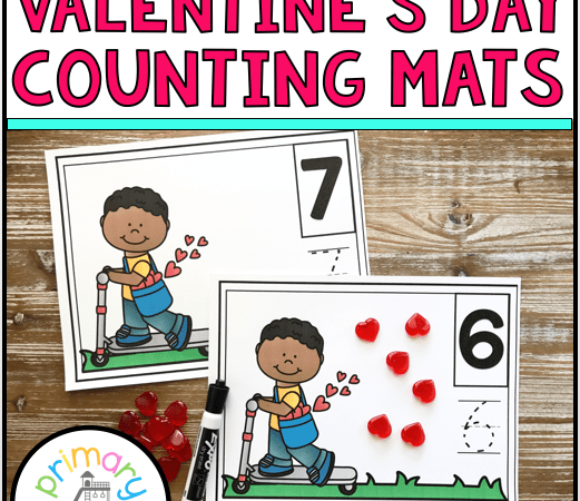 February Kindergarten Math Activities
