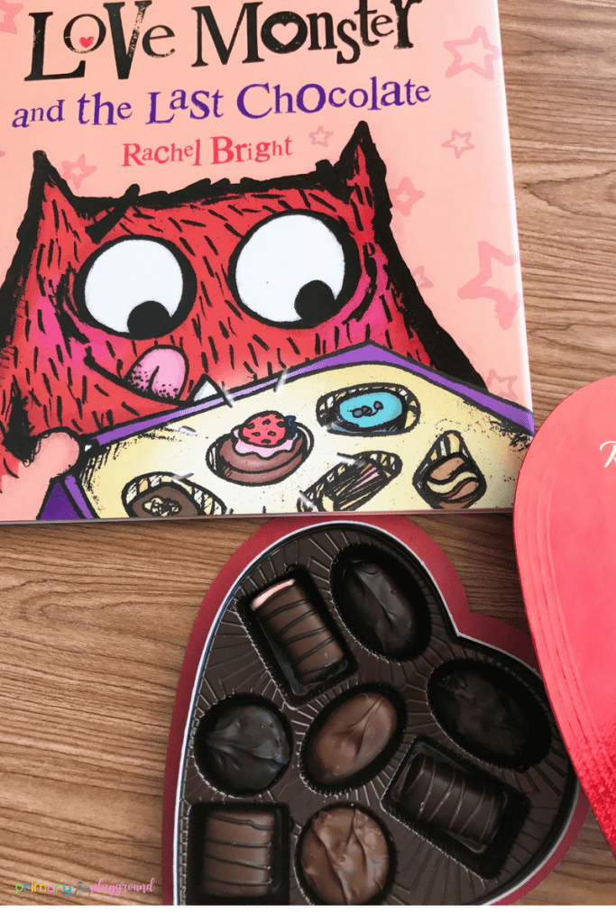 Love Monster Snack Idea and Free Printable
